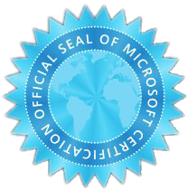 Microsoft Certification Seal